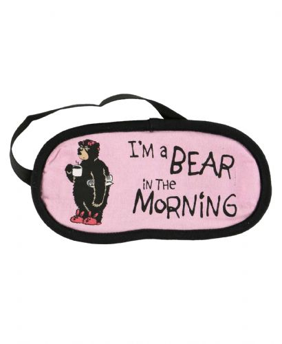 Bear in Morning Sleep Mask | LazyOne®